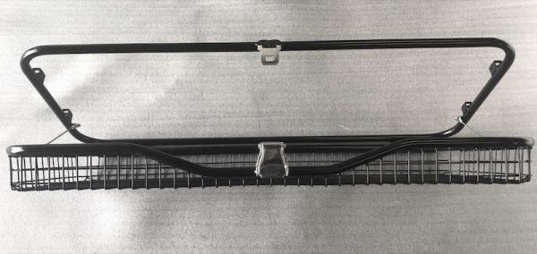 Klappbarer Gepäckkorb zur Verwendung ohne Original LR Hundegitter