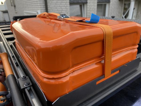 Reservekanister Halterung Diesel Benzin Kanister Universal passend