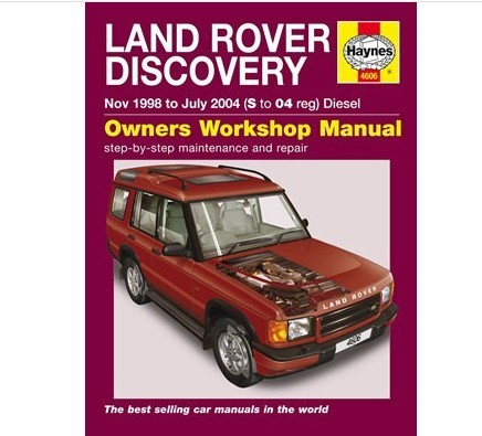 Land Rover Discovery 2 Handbuch Workshop Manual