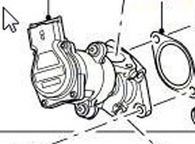 Satz AGR-Ventile links und rechts ohne Partikelfilter