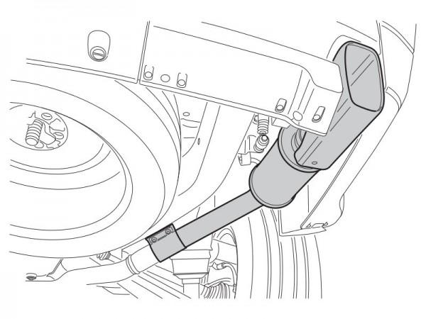 Range Rover Sport 2010-2013 Auspuff-Schalldämpfer-Kit für 3.0 TDV6 ohne Dieselpartikelfilter (DPF)