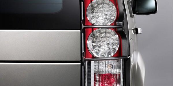 Lampenschutzgitter D4 Land Rover hinten