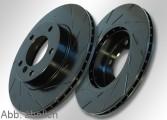 EBC-TurboGroove Bremsscheibensatz Black D4 hinten