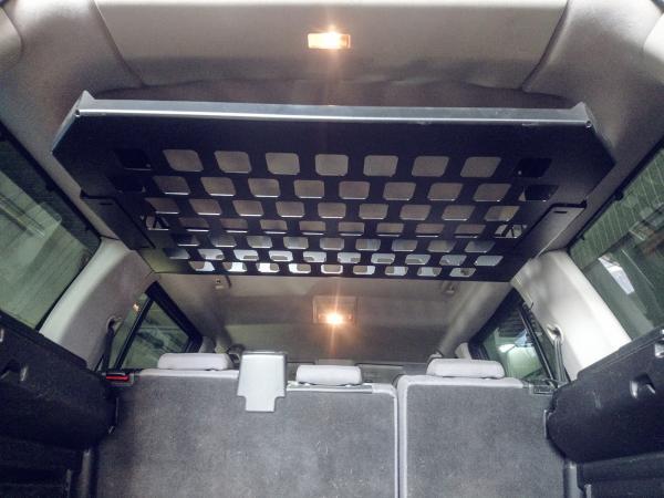 Kofferraum-Gepäckkorb für den Dachhimmel - 5 Sitzer