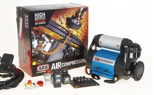 ARB Kompressor mit Lufttank und Anschluss Reifenfüllschlauch