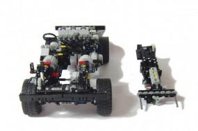 Zusammenbau Lego Defender 110
