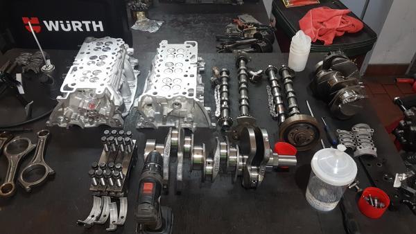 Motorinstandsetzung 3,0 SDV6 und 3,0 TDV6