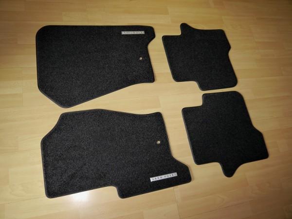 Land Rover Stoff-Fußmatten Set Freelander 2 schwarz