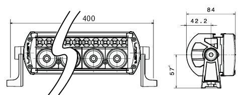 Lazer Lamps Fernscheinwerfer ST-8