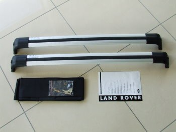 Land Rover Querträger Dach Discovery 3&4 silber