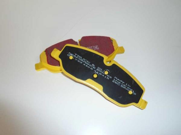 Komplettset 4 x Bremsscheiben und Bremsbeläge Yellowstuff