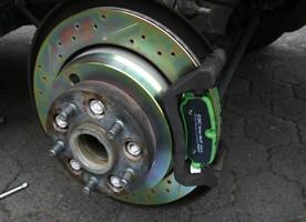 Land Rover Beläge D3 vorne inkl. Klammern