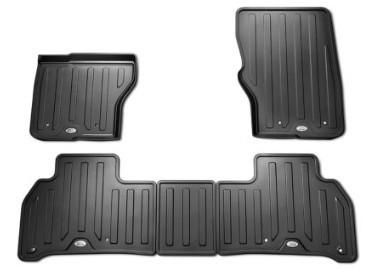 Original Land Rover - Discovery 5 Gummifußmatten-Set schwarz/ebony