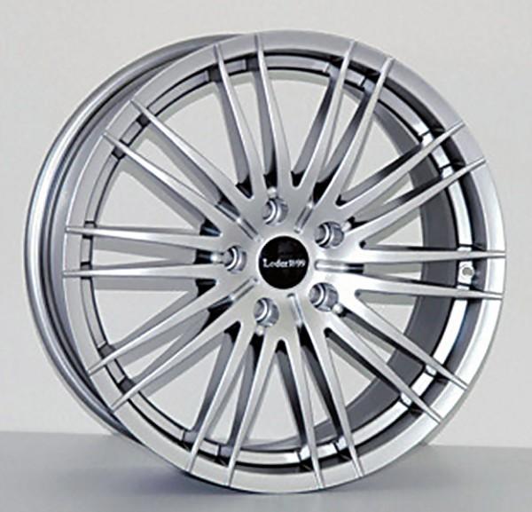 MAURIS hyper-silber oder black polish 8x19 ET45: Reifen Pirelli 255/55R19
