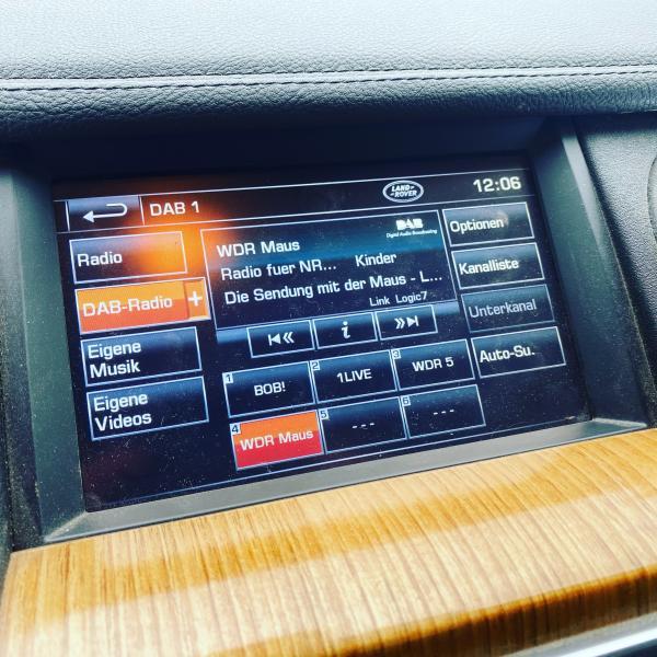 DAB+ Modul - Vollintegration ins Land Rover Original Media-System